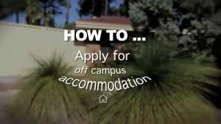 How to apply for off campus housing @ Curtin