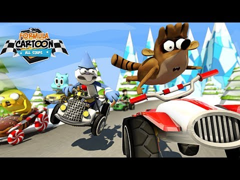 Formula Cartoon All-Stars Android GamePlay Trailer (HD)