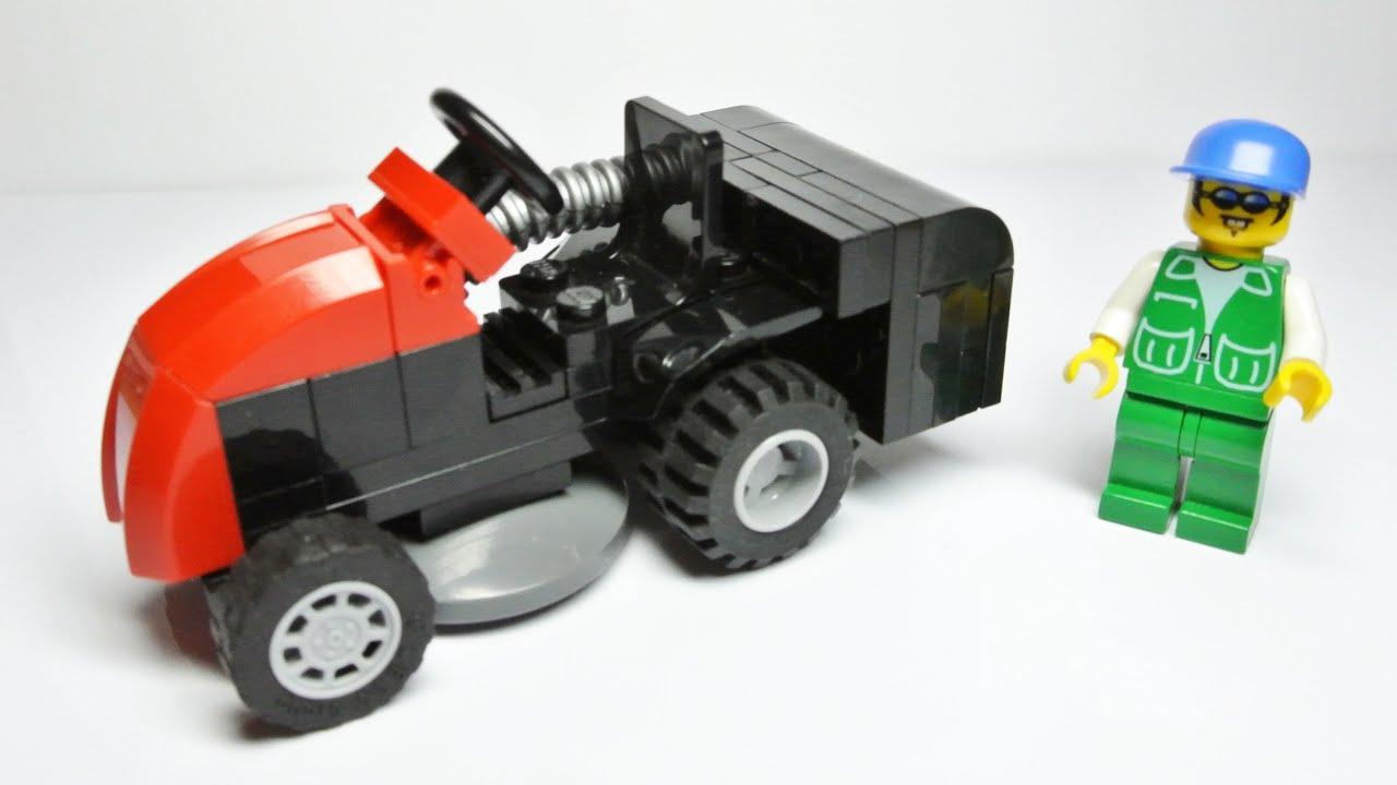Как сделать из лего трактор фото