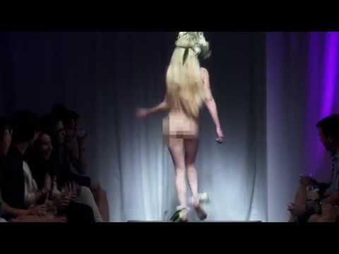 Nude Fashion Show Makes A Statement video