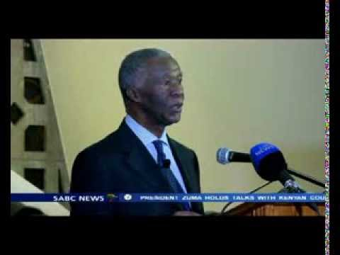 Thabo Mbeki lamented the UN for failing to hear the AU's request.