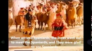 The Great Inca and Spaniards