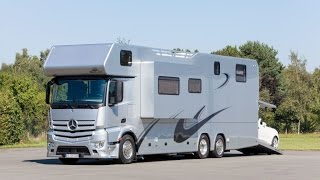 Ultra Luxury Bus In India - Luxury Caravan Interior and Exterior Available in India