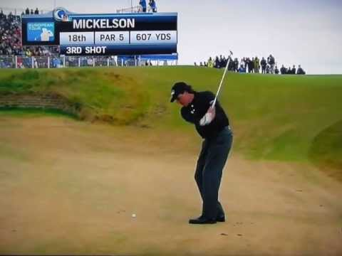 Phil Mickelson - Winning Shot at the 2013 Scottish Open (July 14, 2013)