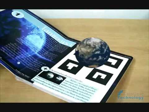 Augmented Reality Learning Media, The Earth s Structure Prototype