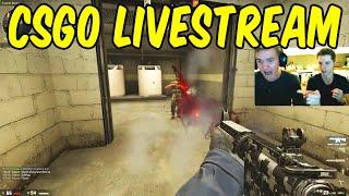 5 Man CSGO Stream! (Raw CSGO)