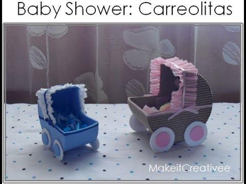 Baby Shower] Carreolita con dulces||DECORACIÓN - YouTube
