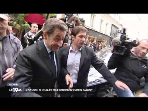 Suspension de l'enquête pour corruption visant N. Sarkozy