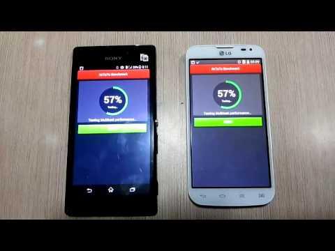 LG L90 Dual vs Xperia M2 AnTuTu Benchmarking