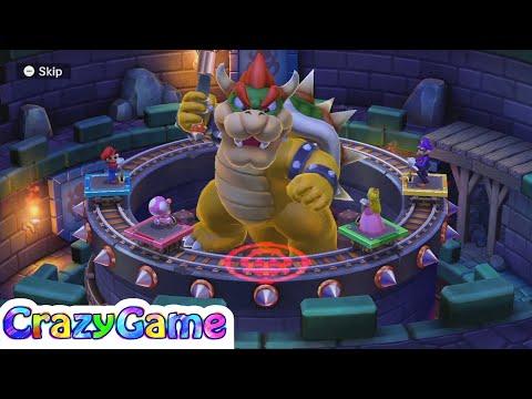 Mario Party 10 Bowser Party #19 Chaos Castle (Team Mario)