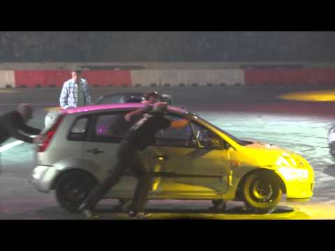 Top Gear Live 2012 - Part 3 - Hammond's Bond Game! - Birmingham N.E.C.