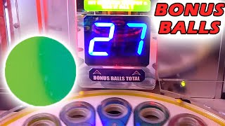 27 Bonus Balls!! Monster Drop Jackpot | Arcade Nerd | Matt3756