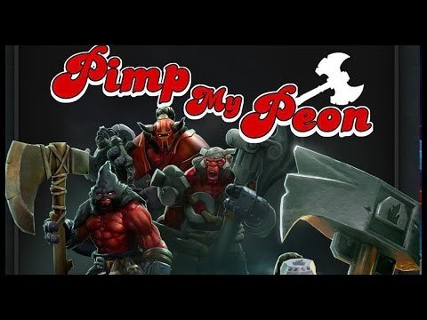 Dota 2 Mods | PIMP MY PEON!! | Free For All!