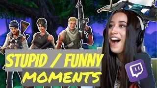 SOME OF THE FUNNIEST/MOST STUPID MOMENTS WITH THE SQUAD | WH #2 | fortnite