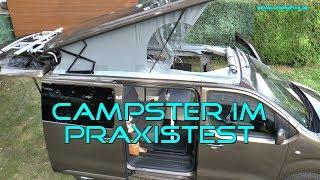 Wie beweist sich der Pössl Campster im  Praxistest?