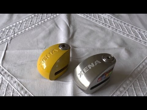 Xena disc lock alarm review (MB)