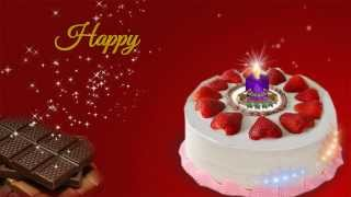 Happy Birthday Video Greeting E-card For Sister / Sis