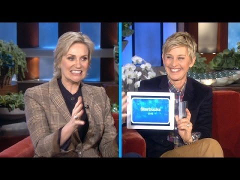 Jane Lynch Plays 'Heads Up!'