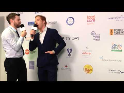 Damian Lewis and Jack Whitehall BGC Charity Day 2014