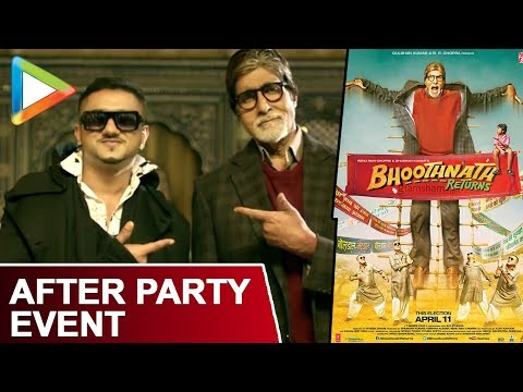 Exclusive - Media After Party With Bhoothnath Returns | Yo Yo Honey Singh | Amitabh Bachchan video