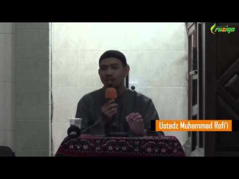 Ust. Muhammad Rofi'i - Fikih Islam (Cara Membersihkan Benda Najis)