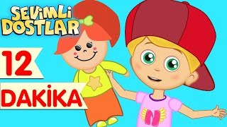 Hopla Topla ve Sevimli Dostlar ile Çizgi Film Çocuk Şarkıları 2017