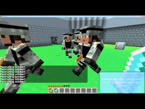 Minecraft Military mod V1.2 Music Videos