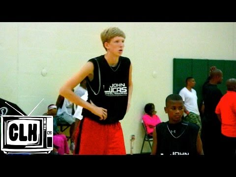 Connor Vanover 7 Foot 8th Grader with 3 Point Range - Class of 2018 Basketball