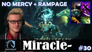 Miracle - Juggernaut Safelane | NO MERCY + RAMPAGE | Dota 2 Pro MMR Gameplay #30
