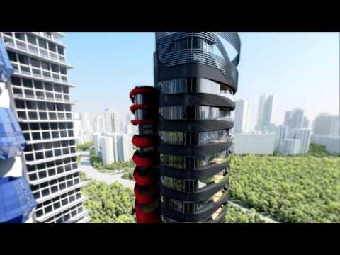 Ferra Luxury condo designed by Pininfarina