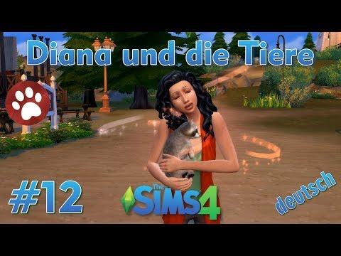 Sims 4 - Diana und die Tiere #12 - Diana adoptiert einen Waschbären