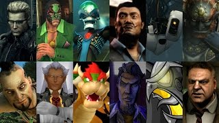 Defeats of my Favorite Video Game Villains Part I