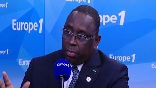 Macky Sall : ''L'occident a joué un rôle dans le chaos en Lybie''