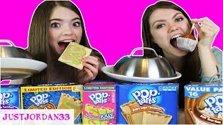 POP TARTS vs. REAL FOOD Switch Up Challenge! /JustJordan33