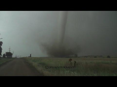 Violent drill bit tornado from Duquoin Kansas! 5-19-12
