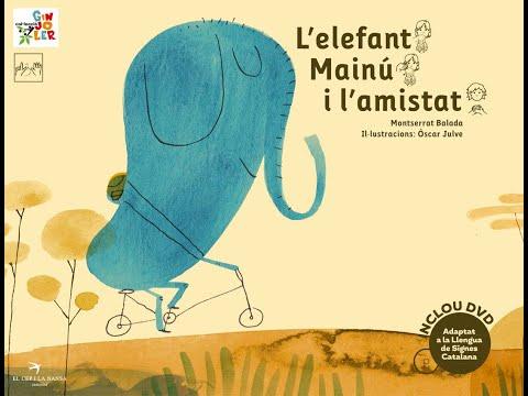 Narració conte 'L'elefant Mainú i l'amistat'