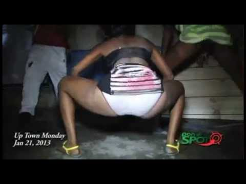Leaked Naked Exclusive!! Fast Wine Dancehall Queens Gone Wild MAD Video 2013