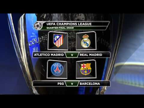 Madrid derby headlines quarter-final draw | Champions League