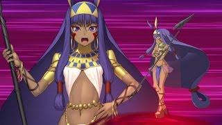 【FGO】ニトクリス【尼托克里絲,キャスター】宝具+EXアタック附中文字幕【Fate/Grand Order】Nitocris Noble Phantasm+EXattack【冥鏡宝典】
