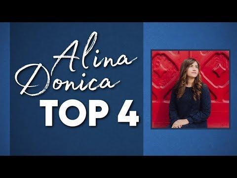 Alina Donica - TOP 4 - Новые и лучшие песни - 2018