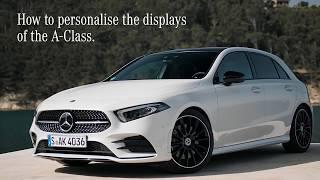 Mercedes-Benz A-Klasse 2019 | Hoe personaliseer je het beeldscherm