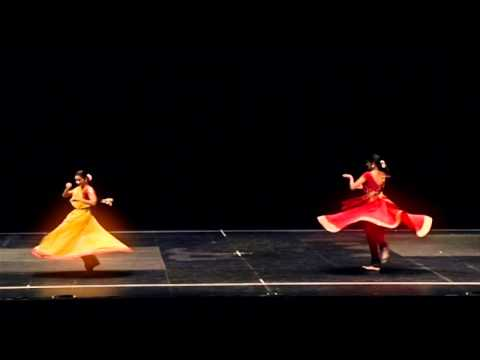 Kathak Pure Dance (nritta), Teen Taal, Dhrut Laya video