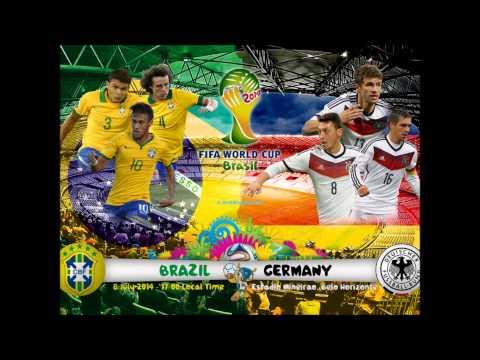 WM 2014 Halbfinale Brasilien - Deutschland (Radio-Mitschnitt)