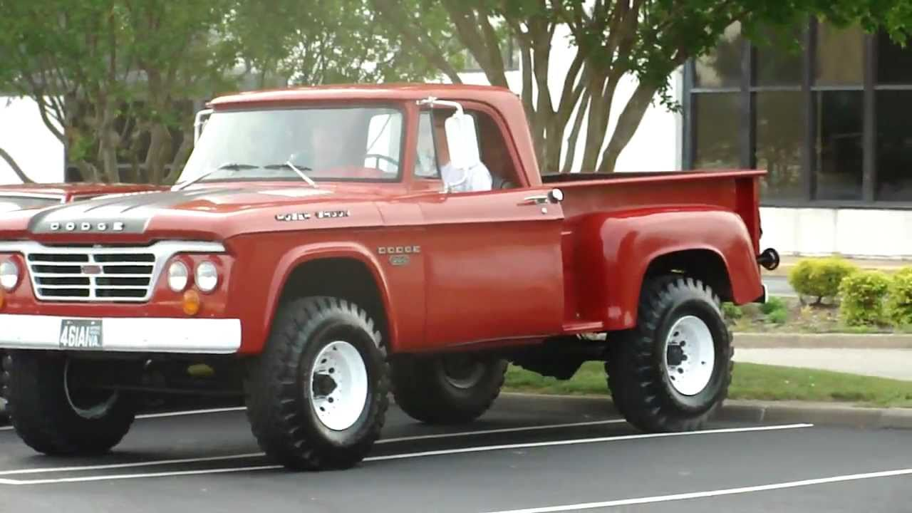 70s dodge power wagon 200 pullin in youtube