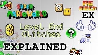 Super Mario World - Level End Glitches