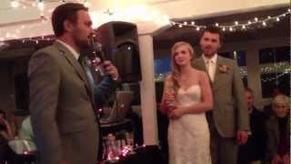 Hilarious Best Man Wedding Speech!