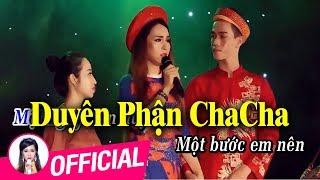 Karaoke Duyên Phận Cha Cha Cha - Đào Anh Thư Full Beat