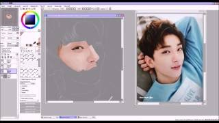Speedpaint | SVT Joshua Hong / Hong Jisoo (???)