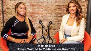 Mariah Huq of Married to Medicine #bravotv