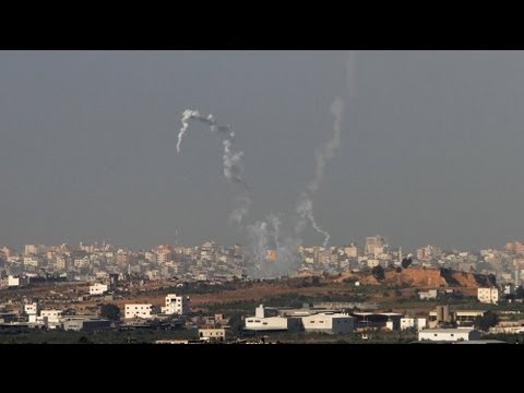 Israel warns of escalation as it strikes back at Gaza militants